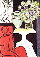 Daisies 1939 - Henri Matisse reproduction oil painting