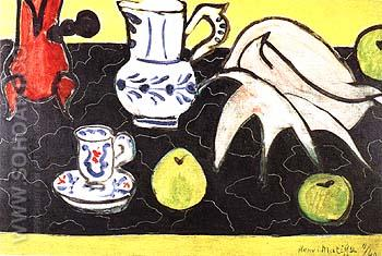 Still Lift with Shell 1940 - Henri Matisse reproduction oil painting