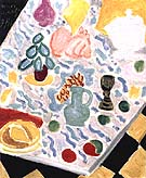 Still Lift with Green Marble Table 1941 - Henri Matisse reproduction oil painting