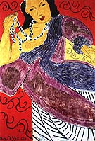 Asia 1946 - Henri Matisse reproduction oil painting