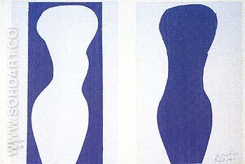 Forme 1947 - Henri Matisse reproduction oil painting