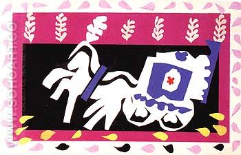 Pierrot's Funeral 1947 - Henri Matisse reproduction oil painting