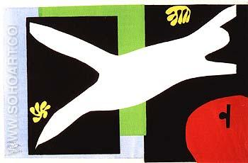 The Swimmer in the Tank 1947 - Henri Matisse reproduction oil painting