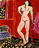 Standing Nude 1947 - Henri Matisse reproduction oil painting