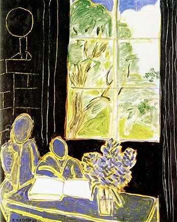 The Silence Living in Houses 1947 - Henri Matisse reproduction oil painting