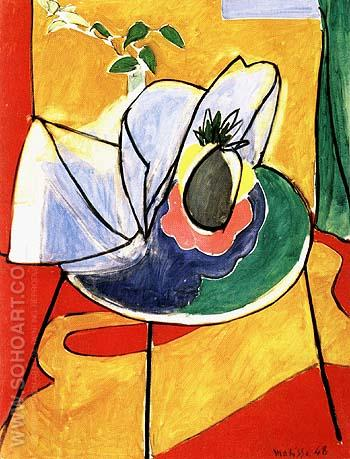 The Pineapple - Henri Matisse reproduction oil painting