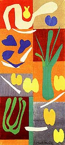 Vegetables 1959 - Henri Matisse reproduction oil painting