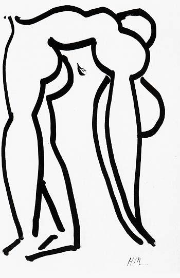 Acrobat 1952 - Henri Matisse reproduction oil painting