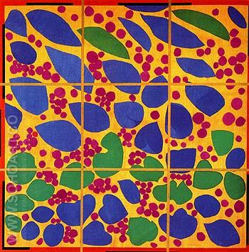 Ivy in Flower 1953 - Henri Matisse reproduction oil painting