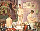 Les Poseuses 1886 - Georges Seurat