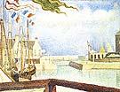 Port-en-Bessin, Sunday 1888 - Georges Seurat