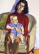 Ann Sutherland Harris and Neil 1978 - bill bloggs reproduction oil painting