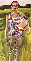 Ginny and Andrew 1978 - bill bloggs reproduction oil painting