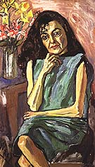 Spanish Woman 1950 - bill bloggs reproduction oil painting