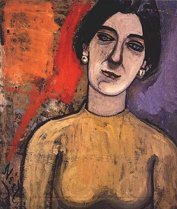 Dore Ashton 1952 - bill bloggs reproduction oil painting