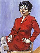 Geza's Wife 1964 - bill bloggs reproduction oil painting