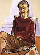 Monika 1968 - bill bloggs reproduction oil painting