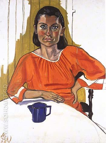 Leah 1968 - bill bloggs reproduction oil painting