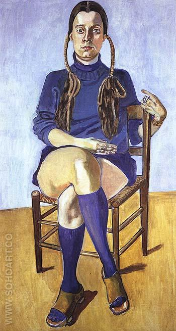 Vera Beckerhoff 1976 - bill bloggs reproduction oil painting