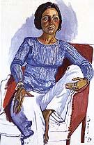 Dianne Vanderlip 1973 - bill bloggs reproduction oil painting