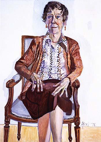 Ellen Johnson 1976 - bill bloggs reproduction oil painting
