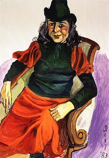 Vivien Leone 1983 - bill bloggs reproduction oil painting