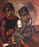 Two Girls, Spanish Harlem 1959 - bill bloggs