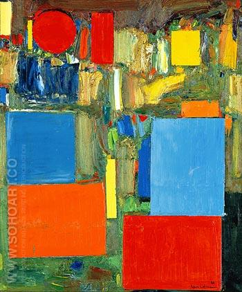 Pre Dawn - Hans Hofmann reproduction oil painting