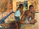 Te Rerioa 1897 (The Dream) - Paul Gauguin
