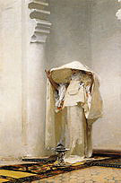Fumee D Ambre Gris 1880 - John Singer Sargent reproduction oil painting