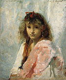Carmela Bertagna 1880 - John Singer Sargent reproduction oil painting
