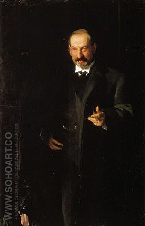 Asher Wertheimer 1898 - John Singer Sargent reproduction oil painting