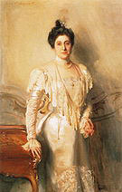 Portrait of Mrs Asher B Wertheimer 1898 - John Singer Sargent reproduction oil painting