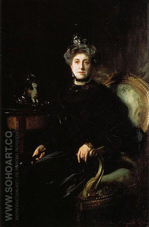 Mrs Wertheimer 1904 - John Singer Sargent reproduction oil painting