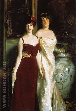 Ena and Betty Daughters of Asher and Mrs Wertheimer 1901 - John Singer Sargent reproduction oil painting
