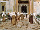 Door of A Mosque 1891 - John Singer Sargent reproduction oil painting