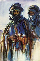 Bedouins 1905-06 - John Singer Sargent reproduction oil painting