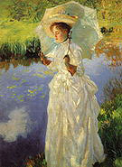 A Morning Walk 1888 - John Singer Sargent reproduction oil painting