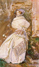 The Cashmere Shawl 1910 - John Singer Sargent reproduction oil painting