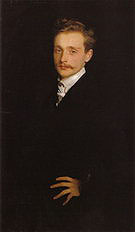 Leon Delafosse 1893 - John Singer Sargent reproduction oil painting