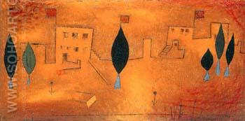 Oriental Feast - Paul Klee reproduction oil painting