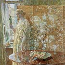 Tanagra (The Builders, New York) - Childe Hassam reproduction oil painting
