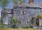 East Hampton LI Old Mumford House 1919 - Childe Hassam reproduction oil painting