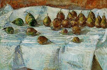 Winter Sickle Pears 1918 - Childe Hassam reproduction oil painting