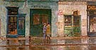 Little Cobbler s Shop 1912 - Childe Hassam reproduction oil painting