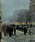 Broadway and 42nd Street 1902 - Childe Hassam reproduction oil painting