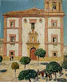 Cathedral at at Ronda 1910 - Childe Hassam reproduction oil painting