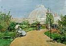 Horticulture Building World s Columbian Exposition Chicago 1893 - Childe Hassam reproduction oil painting