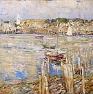 Gloucester 1899 - Childe Hassam reproduction oil painting