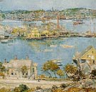 Gloucester Harbor 1899 - Childe Hassam reproduction oil painting